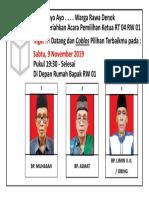 Revisi A4 - Brosur Pengumuman Pemilihan Ketua RT