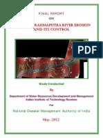 NDMA Final Report Brahmaputra River