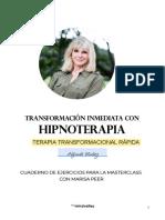 TRANSFORMACIÓN INMEDIATA CON HIPNOTERAPIA