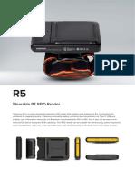R5 Wearable BT RFID Reader