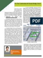 Fabrication Work For The Construction Of Chenab Bridge Part I