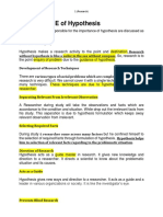 8. IMPORTANCE of Hypothesis.docx