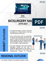 Biosurgery Market Trends and Analysis Report 2027