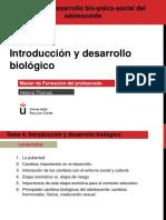 Desarrollo biopsicosocial