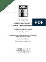 Antropologia e Comportamento Social - Campo de Golfe em Luanda uma abordagem social (1ºANO)