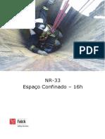 NR 33 - Curso de Espaço Confinado - Apostila.docx
