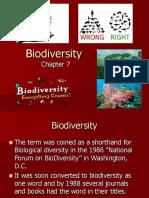 Biosphere 8 Biodiversity