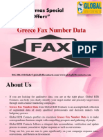 Greece Fax Number Data