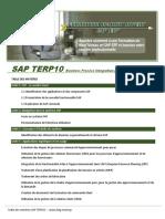 Table Des Matières - Sap Terp10