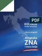 """Program"" Kolinde Grabar Kitarović"