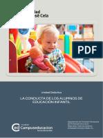 CONDUCTA ALUMNOS E.INFANTIL