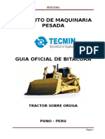 BITACORA  DE  TRACTOR DE ORUGAS FIAT ALLIS AD14C.doc