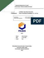Laporan Praktikum Stirred Tank Reaktor_171411048_3b (Revisi)