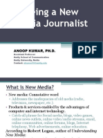 New Media Journalist