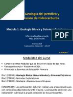 Día 1 - Geología Básica y Sistemas Petroleros