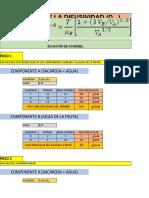calculo de confitado difusividad