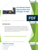 Coal Market Global Opportunities and Strategies to 2022