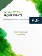 ASR Requirements Definition v3