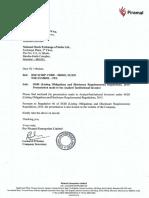 Pel Analyst Presentation Covering Letter Presentation