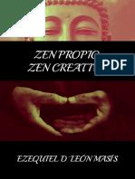 Zen Propio, Zen Creativo - Ezequiel D'León Masís