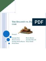The Ryland's vs Fletcher Case