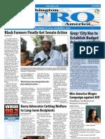 Washington D.C. Afro-American Newspaper, 27, 2010