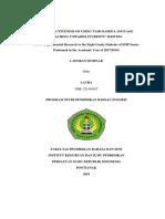 Seminar's Report Laura