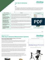Anritsu - VNA Use in Antenna Measurement Systems [11410-00975A]