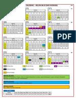 IMI Plant Work_Calendar(6 Days)_ 2020