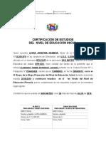 CERTIFICACIÓN DE ESTUDIOS DEL NIVEL DE EDUCACIÓN INICIAL (12).doc