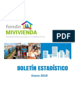 1. Boletã_n Estadã_stico Del Fmv - Enero 2019