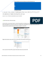 Creating and Managing a Group Policy in Windows Server 2016 _ Windowstechpro Site