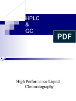 HPLC and GC