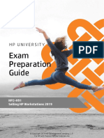 HP2-H91 HP UNIVERSITY Exam Preparation Guide Selling HP Workstations 2019