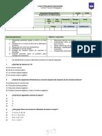 Dianostica Matematica 8° 2020