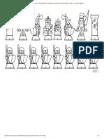 Desenho de Peças de xadrez para colorir _ Desenhos para colorir e imprimir gratis