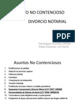UNION DE HECHO, SEPARACION CONVENCIONAL Y DIVORCIO ULTERIOR.pptx