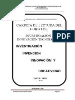 Carpeta de Lectura de Investigación e Innovación Tecnológica