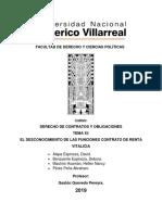 MODELO DE UN CONTRATO DE RENTA VITALICIA