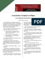 Carta Filipenses estudio  expositivo