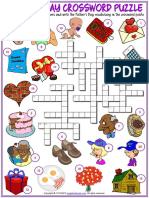 fathers day vocabulary esl crossword puzzle worksheet for kids