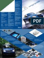 Ficha Tecnica Bt 50 Diesel Dc 4x4 y Hi Rider 4x2 2011