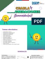 Charla de Remuneraciones 2019