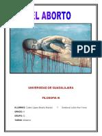 El Aborto Trabajo Final