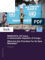 MONUSCO Still Has Work to Do