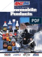 AMSOIL Snowmobile Products 2 cycle oil, engine oil, fuel additive, and grease