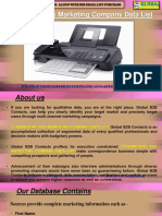 Luxembourg Fax Marketing Company Data List