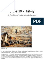 Class 10 - History - I. The Rise of Nationalism in Europe