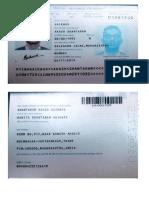 Akash Gaikwad Passport