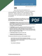 Carta Del FMI